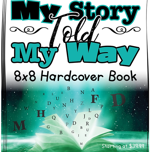My Story My Way Hardcover Books