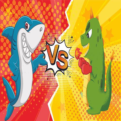 Shark v. Dino E-Book
