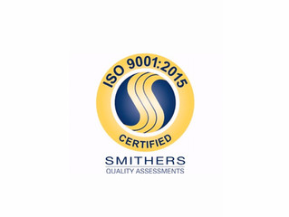 ISO 9001:2015 Certification Awarded