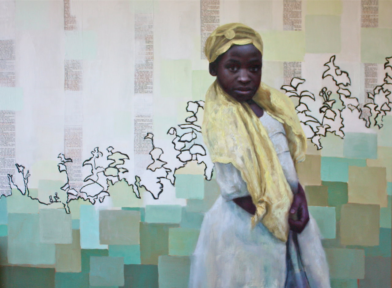 Girl in Guinea (SOLD)