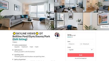 Airbnb property management Calgary, short term rental Calgary, airbnb calgary