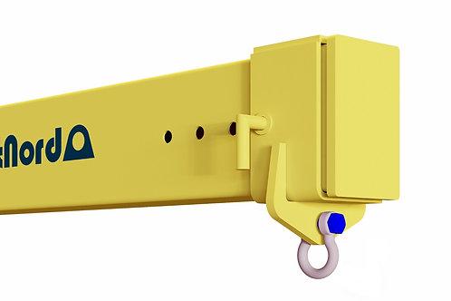 Flyttbar schackeplåt på hylsa med låspinne (SP-SLP)