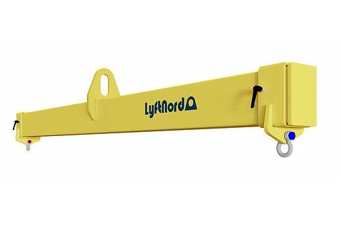 L1004. Lyftok med steglöst ställbar lastbredd
