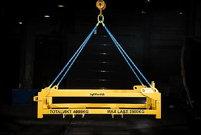 Utrustning för lyft av torrseparator och gruvutrustning.