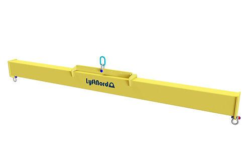 L1011. Lyftok med flyttbar lyftpunkt på hålplåt