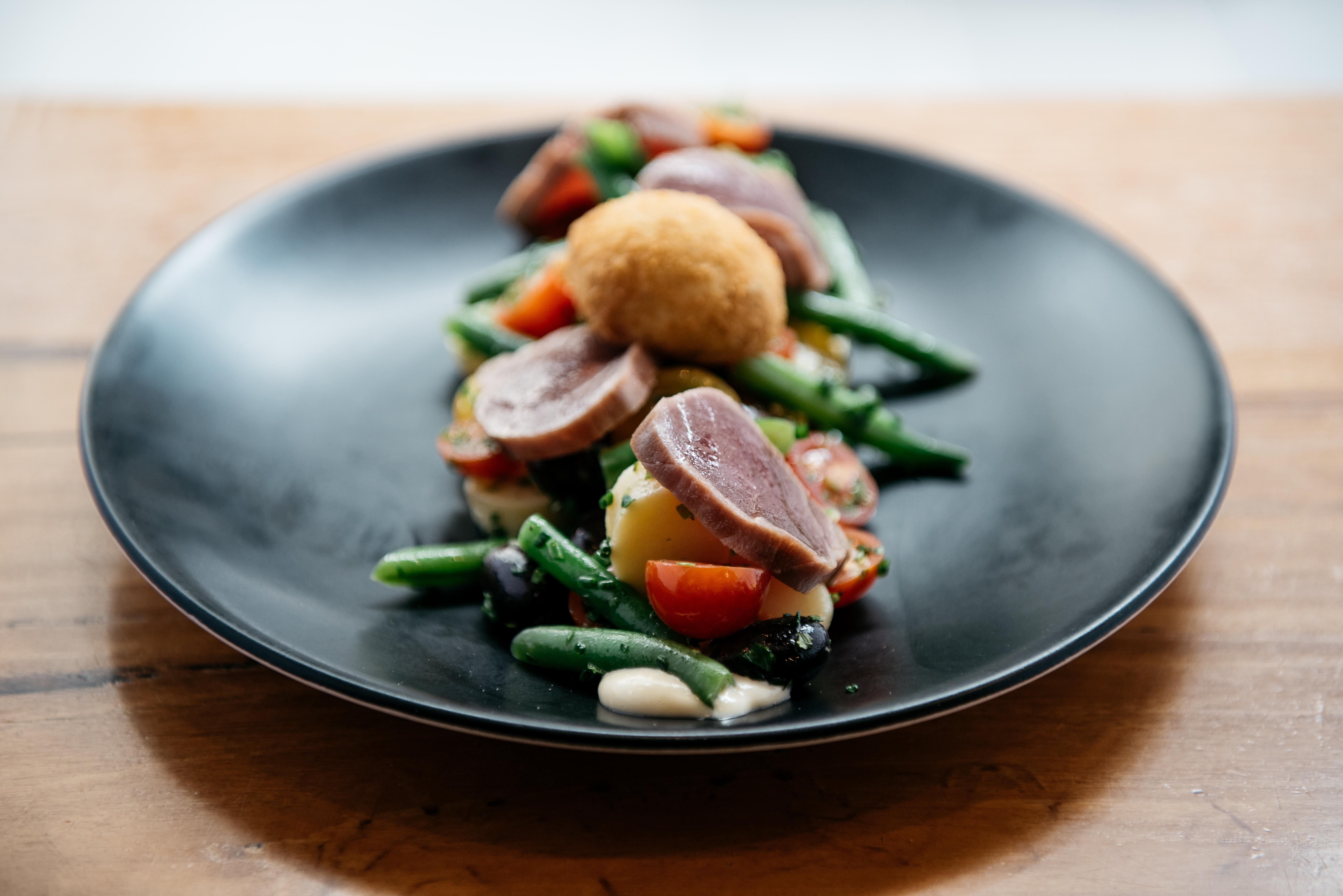 Rare Tuna Salad
