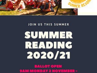 Palmerston North City Library - Summer Reading Programme 2020/21