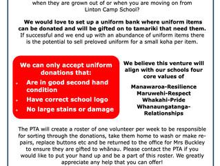 PTA - Uniform Donations