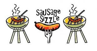 Sausage sizzle at Athletics