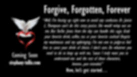The Book Titled Forgive, Forgotten, Forever by Stephany Tullis