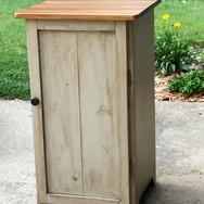 Special order cabinet, solid poplar