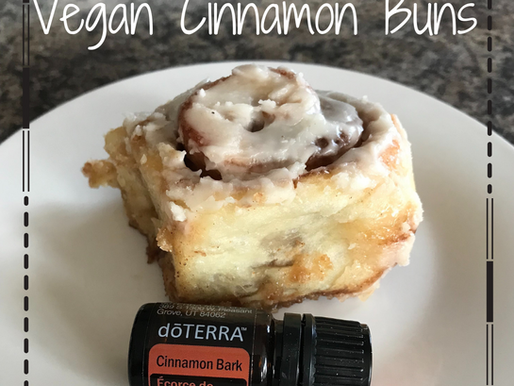 Simple Vegan Cinnamon Buns