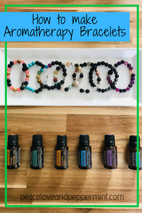 How to make aromatherapy bracelets
