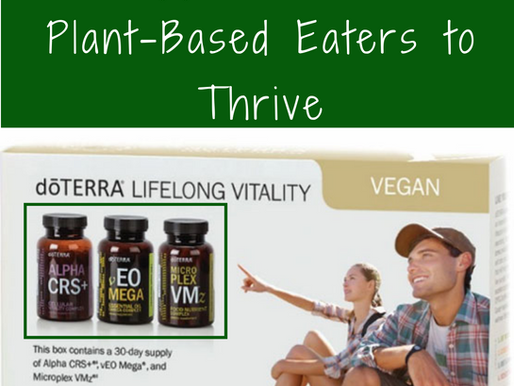 3 Supplements For Plant-Based Eaters to Thrive