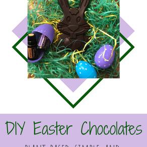 DIY Healthy Easter Chocolates