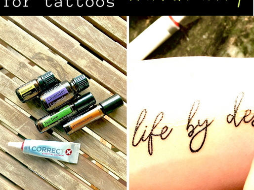 How to Care for Tattoos, Naturally