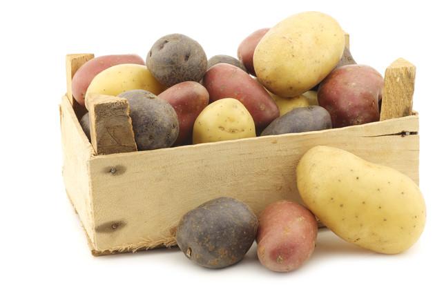 Purple, French & Rose Potatoes