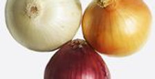 Onions- RED, YELLOW & WHITE MIX 1/2lb approx. 30 onions