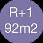Rez de chaussée + Etage - 92m2