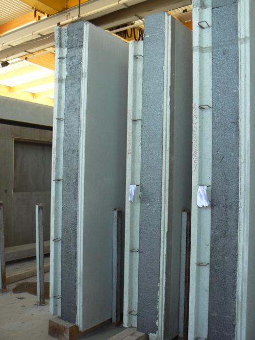 Aire de stockage des murs