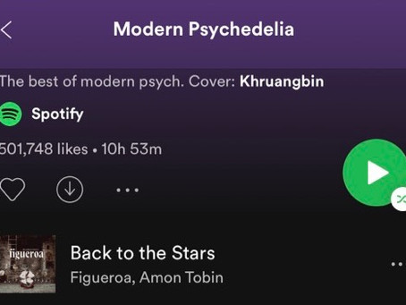 Figueroa featured on Modern Psychedelia!