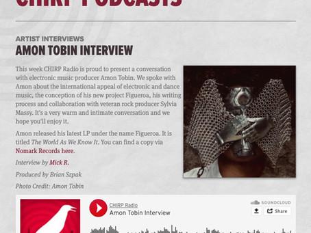 Chirp Radio interviews Amon