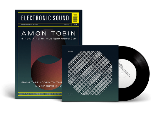 """Electronic Sound cover feature & Nomark Sampler 7"""""""