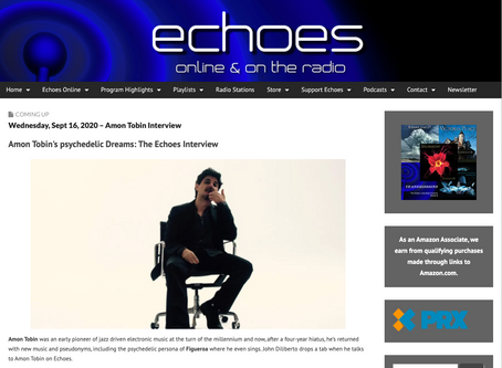 Echoes interviews Amon Tobin