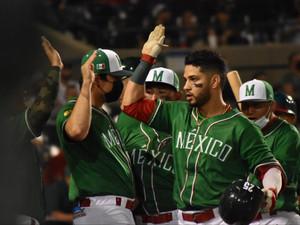 Dominio total de los campeones: México blanqueó 5-0 a Cuba