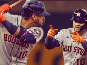 Yuli Gurriel intenta recobrar su ritmo ofensivo con los Astros