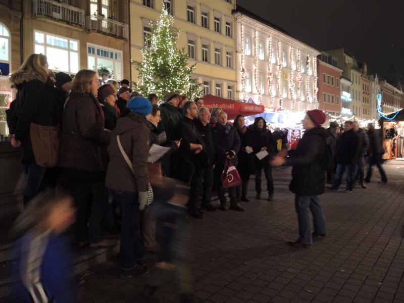 flash mob in Konstanz, Germany
