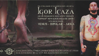 IGOR ICAZA ALBUM RELEASE
