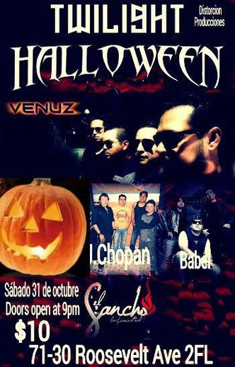 HALLOWEEN PARTY CON VENUZ