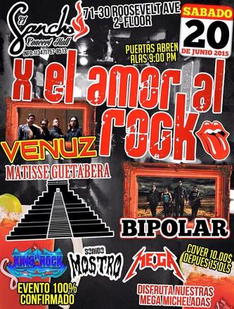 X EL AMOR AL ROCK