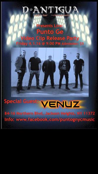 VENUZ Special Guest @ D'Antigua