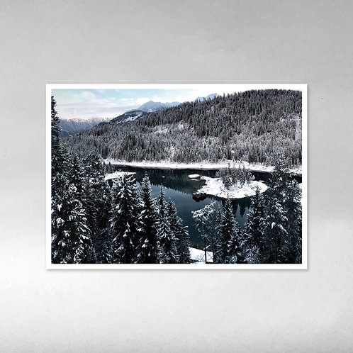 Caumasee Winter