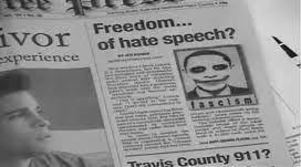 Free Speech or Hate Speech?