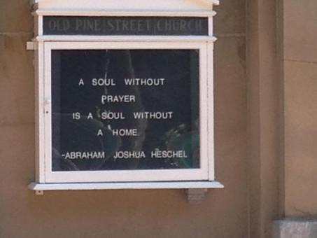 A #Jewish Philosopher's Words on a Presbyterian Church