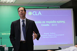English: Ronald A. Heifetz on 29 March 2010 du...