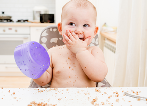 What to do about your baby or toddler throwing food?