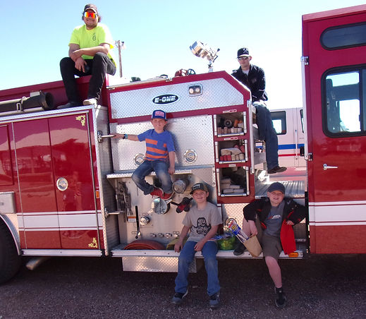 Easter2021- FireTruck-Florence- SideSeat