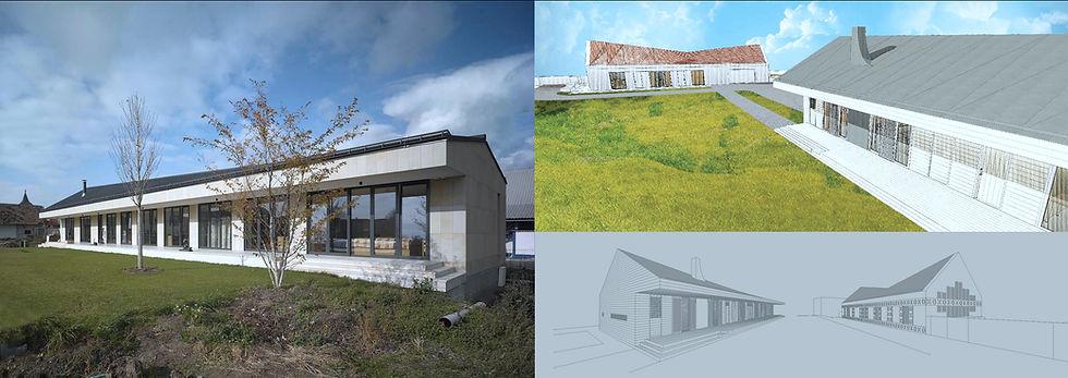 RENOUVELLEMENT ET CONSTRUCTION DE LA MAISON EN PROVINCE