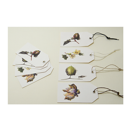 Cotton Gift Tags x 8