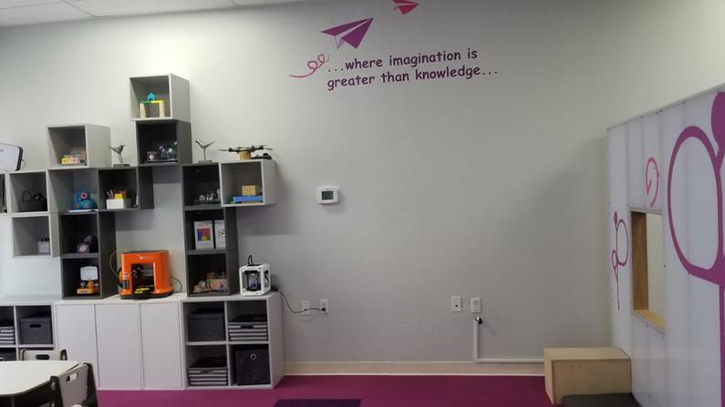 Tech Wall @ Maker Space
