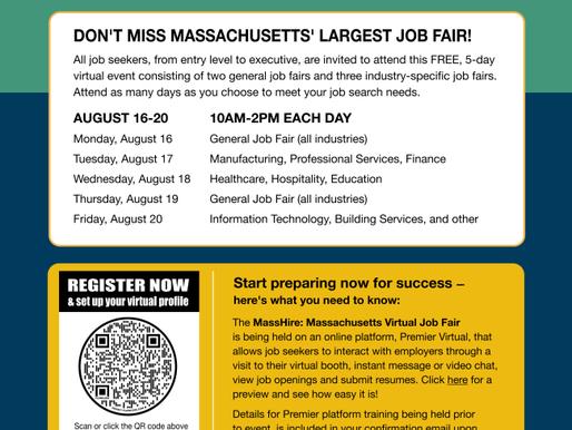 MassHire: Massachusetts Virtual Job Fair