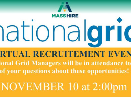 National Grid Virtual Recruitment Event