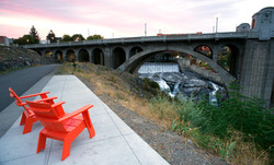 Chairs at bridge.Depositphotos_188938632