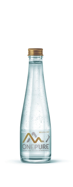 Cure Kids Promo: Sparkling Water 15x300mL Glass Bottle (A Box) Incl. GST&Deliver