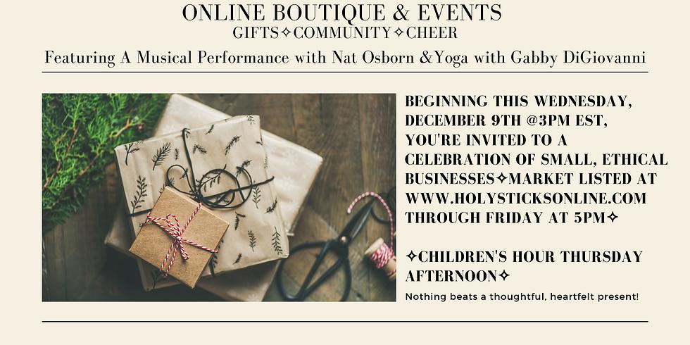 Holiday Market Pop-Up ✧ Online Boutique & Events
