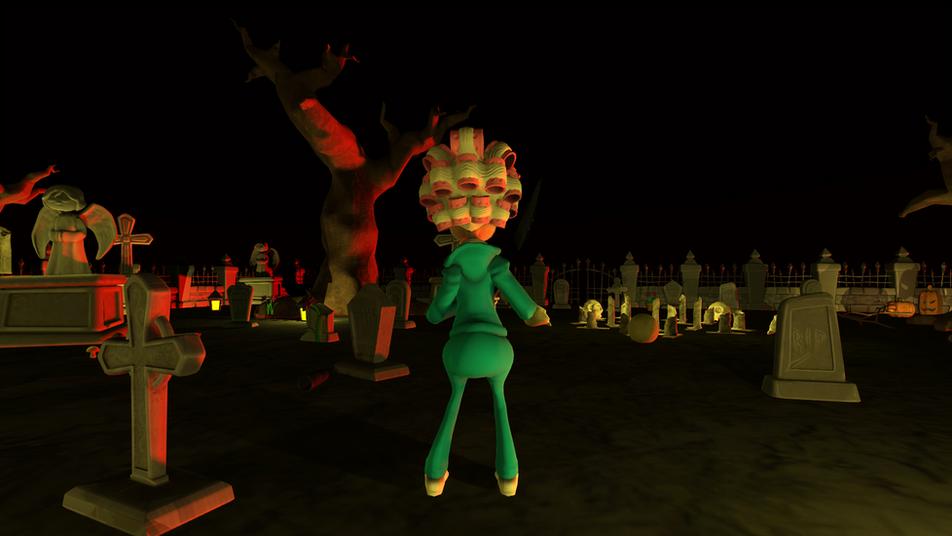 Spooky Graveyard Game